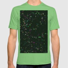 Saturated Space Mens Fitted Tee Grass SMALL