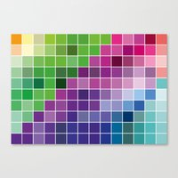 Multicolor Canvas Print