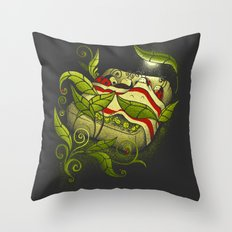 Bed Bugs Throw Pillow