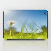 Blue & Green & Dandy iPad Case