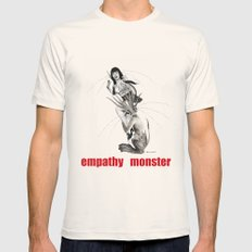 empathy monster Mens Fitted Tee Natural SMALL