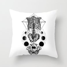 ЯR Throw Pillow