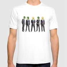 lemon and lime heads White Mens Fitted Tee SMALL