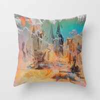 The Oz, By Sherri Of Pal… Throw Pillow