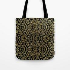 Art Deco Gold Tote Bag
