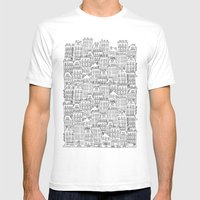 urban winter Mens Fitted Tee White SMALL