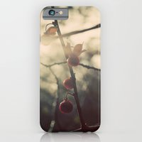 iPhone & iPod Case featuring Winter Berries by Shy Photog