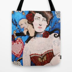 Augusta -- The Tattooed Lady Tote Bag
