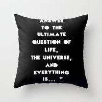 Forty Four Throw Pillow