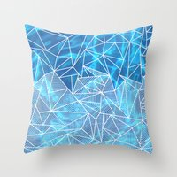 Blissful Rays Throw Pillow