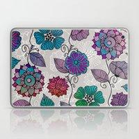 Flower Flow #2 Laptop & iPad Skin