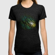 Once Upon A Night Womens Fitted Tee Tri-Black SMALL