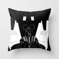 Episode V — Vador Mouse Chambers Throw Pillow