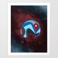 Mega Man  Art Print