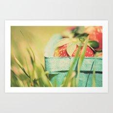strawberry fields forever ...  Art Print