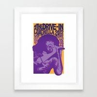 At The Drive-In - Coachella 2012 Framed Art Print