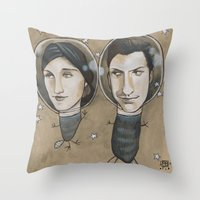Outer Face Throw Pillow