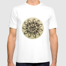 Eye Flower Mens Fitted Tee White SMALL