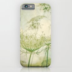 Sanctuary -- White Queen Anne's Lace Meadow Wild Flower Botanical iPhone 6 Slim Case