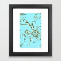 Tiny Dancer [Locust] Framed Art Print