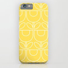 MCM Tulip Outline in Yellow Slim Case iPhone 6s