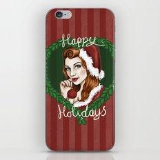 Christmas Pin-Up 2 iPhone & iPod Skin
