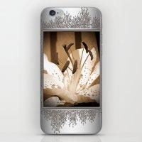Oriental Lily named Muskadet iPhone & iPod Skin