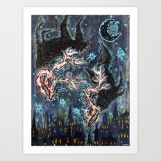 Fonta Fauna Art Print