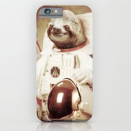 Sloth Astronaut iPhone 6 Slim Case