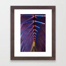 Chruch Lights Framed Art Print