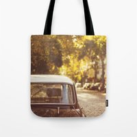 Autumn streets Tote Bag