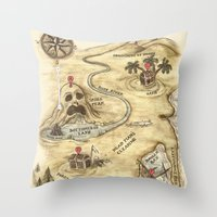 Did You Mean Treasure Is… Throw Pillow