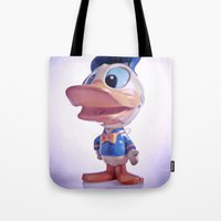 Duck #1 Tote Bag