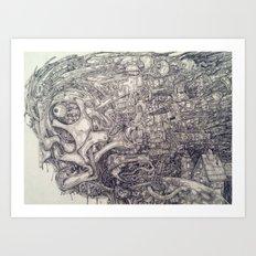Mindmix Art Print