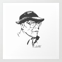 Old Swagger Art Print