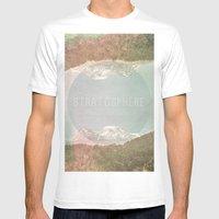 stratosphere Mens Fitted Tee White SMALL