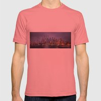 Desert City Mens Fitted Tee Pomegranate SMALL