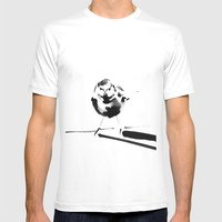 Same As It Ever Was Mens Fitted Tee White SMALL