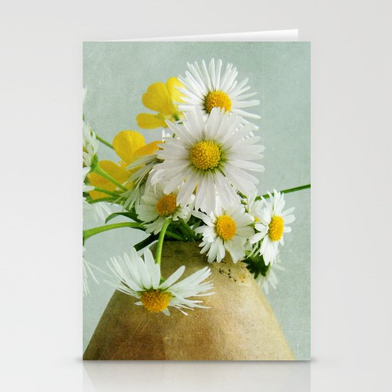Daisies and Buttercups Stationery Card