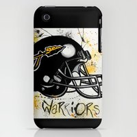 iPhone 3Gs & iPhone 3G Cases featuring Tuscola Warriors (Kibler Original) by BLinkart
