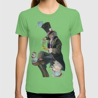 Mad Hatter Womens Fitted Tee Grass SMALL