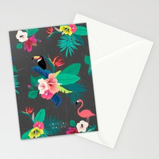 Tropical Birds Stationery Cards