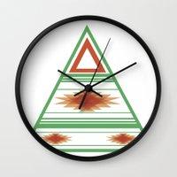 Wüstenblau Wall Clock