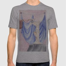 Nike Mens Fitted Tee Athletic Grey SMALL