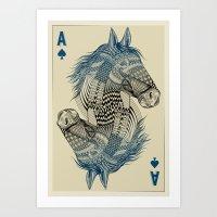 American Pharoah (Ace) Art Print
