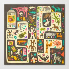 Imagine There's NO Heave… Canvas Print