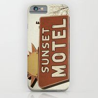 Sunset Motel iPhone 6 Slim Case
