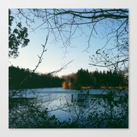 Kingswood Lake Canvas Print