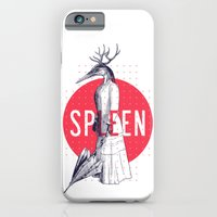 iPhone & iPod Case featuring Spleen by victor calahan