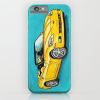 Yellow Corvette iPhone 6 Slim Case